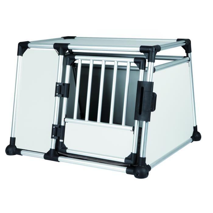 TRIXIE Box de transport pour chien alu 93x65x81 cm
