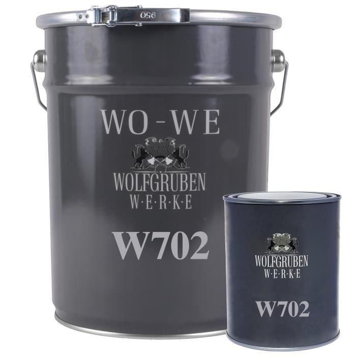 5 kg - Résine époxy pour sol béton - Revêtement garage - Peinture industrielle W702 - Turquoise pastel simil. RAL 6034