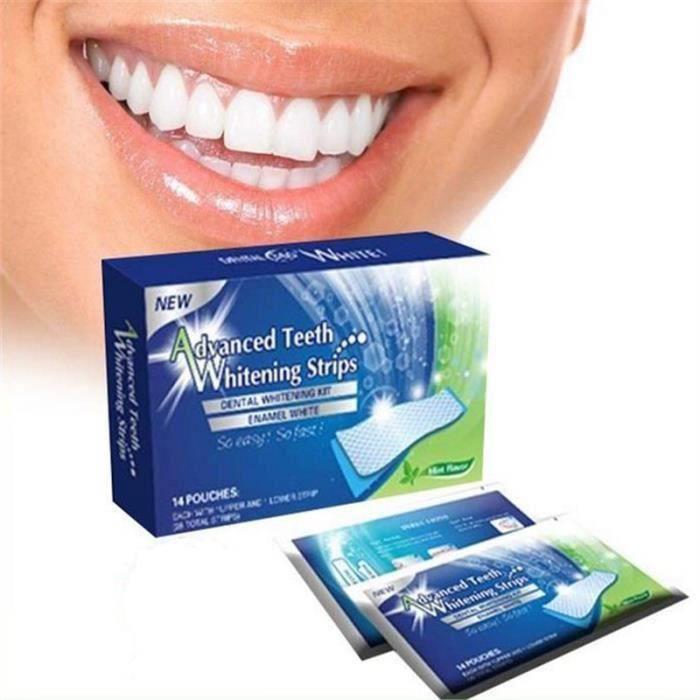bandelette blanchiment des dents