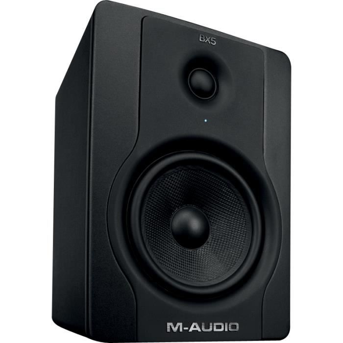 m audio bx5d2 enceinte active 2 voies 70w unit enceinte et retour avis et prix pas cher. Black Bedroom Furniture Sets. Home Design Ideas
