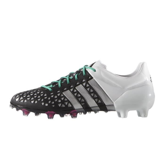 low cost cf8c1 a6d6a Chaussures football adidas ACE 15.1 FGAG NoirBlanc