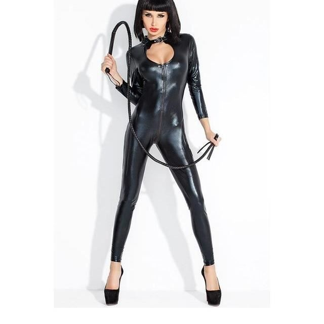 halloween costume catsuit catwoman femme sexy latex faux cuir bodysuit sans fouet achat. Black Bedroom Furniture Sets. Home Design Ideas