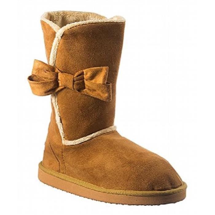 Madness Womans Short Warm Winter Boots I22A5 Taille-37 1-2