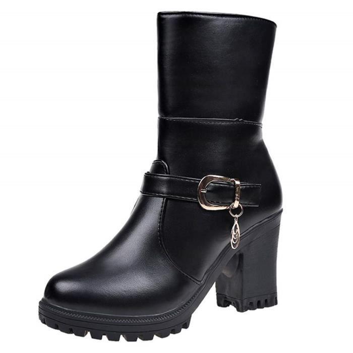 REEBOK Baskets Classic Leather – Femme – Noir – Samcom