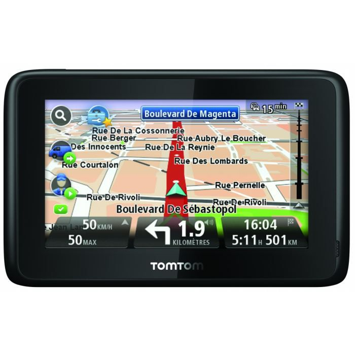route occasion gps camping car tomtom. Black Bedroom Furniture Sets. Home Design Ideas