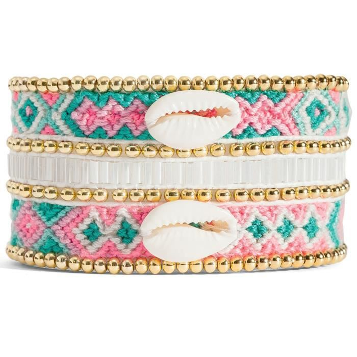 Bracelet Hipanema Norma-twin taille L