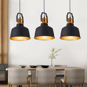 LAMPE DE CHANTIER Lustre Lampe de salon créatif Lampe suspendue (amp