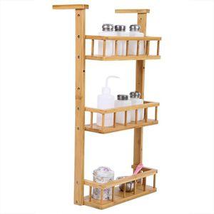 MEUBLE RANGE BOUTEILLE étagère à Suspendre pour Réfrigérateur, Multi-Fonc