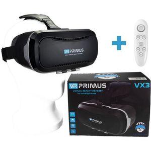 CASQUE RÉALITÉ VIRTUELLE VR PRIMUS® VX3, Casque VR pour Smartphone à 5.8″.