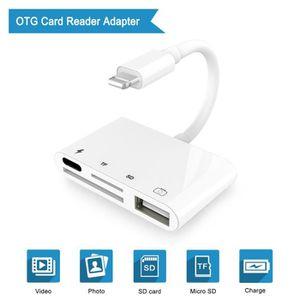 CAMÉRA ELECTRONIQUE 4 en 1 card reader, lecteur de carte SD,Lightning