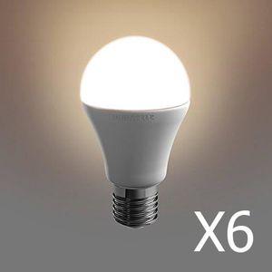 AMPOULE - LED Pack 6  ampoules Duracell LED E27 40W A-Shape    C