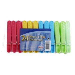 PINCE À LINGE LAGUELLE 24 Pinces à linge en plastique