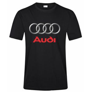 T-SHIRT Audi Logo T Shirt Homme T Shirt Fashion Casual 100