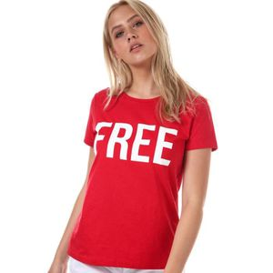 T-SHIRT T-Shirt Only Riva T-Shirt in high risk red.