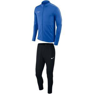 Ensemble de vêtements Survêtement Nike Park 18 bleu adulte