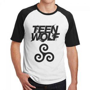 WAWNI Teen Wolf T-shirts /à col rond pour femme et homme /à manches courtes d/écontract/é streetshirt unisexe oversize