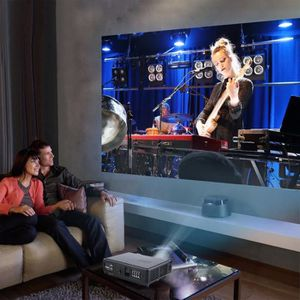 Vidéoprojecteur Full HD 1080 P Projecteur LED Portable Media Playe