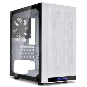 BOITIER PC  SilverStone Precision PS15 (blanc) - Boîtier mini-