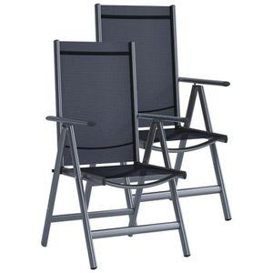 FAUTEUIL JARDIN  Chaise de jardin VE 2 Anthracite