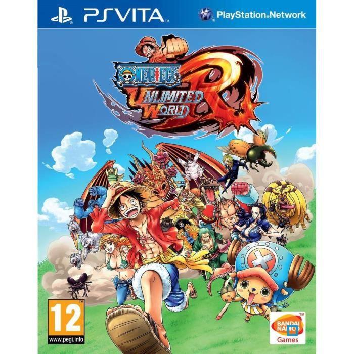 One Piece Unlimited World Red Jeu PS Vita