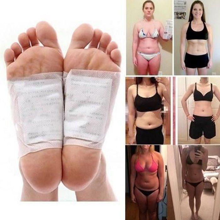10 Pcs Detox Pied Patch Améliorer Sommeil Minceur Soins Des Pieds Autocollants Perte de Poids Produits