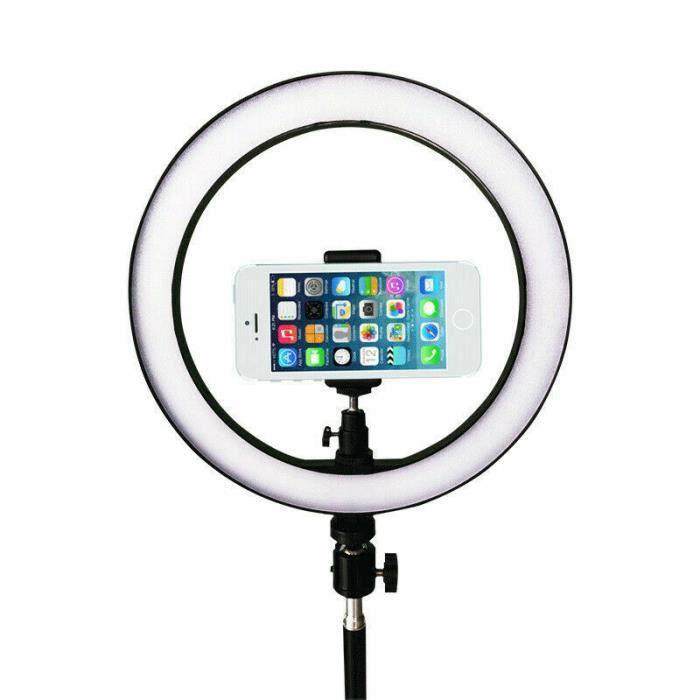 Anneau Lampe à LED 10- - Eclairage d'appoint Vidéo Photo