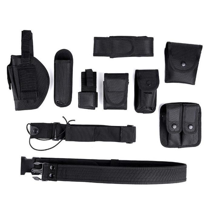Protection sportive Nylon tactique 600 de ceinture de devoir d'équipement d'application de police modulaire de garde de sécurité