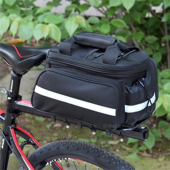 Vélo vélo Porte-bagage Sac amovible Carry Porte Sac de selle du vélo Porte-bagages Paquet @ajghhah139