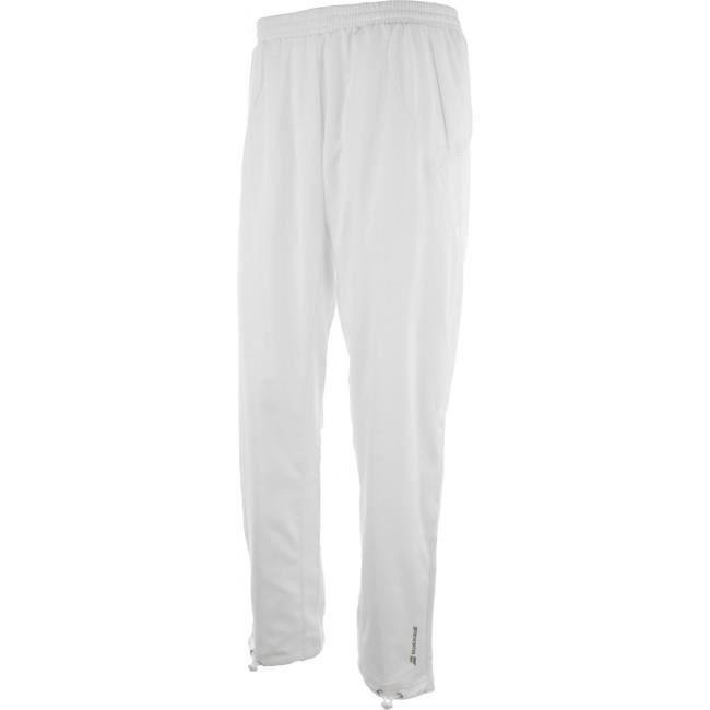 BABOLAT - BABOLAT PANT CORE MEN WIM WHITE - Pantalons TENNIS BLANC - (XXL)