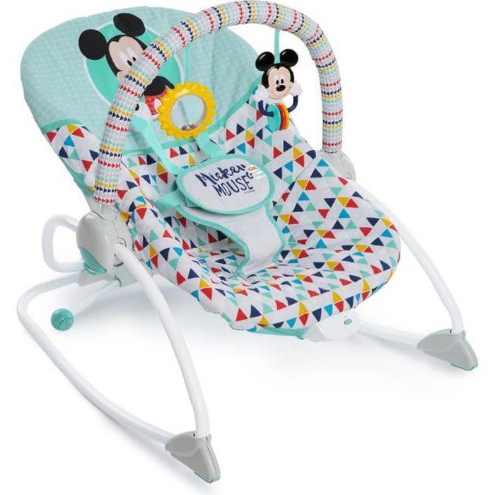 Disney Baby Transat pour bébé Mickey Mouse Happy Triangles