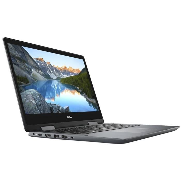DELL PC Ultrabook Inspiron 14-5482 FHD Touch LCD - 4Go - Core i3-8145U - 256Go PCIe SSD CL35 - Graphique intégré - Windows 10