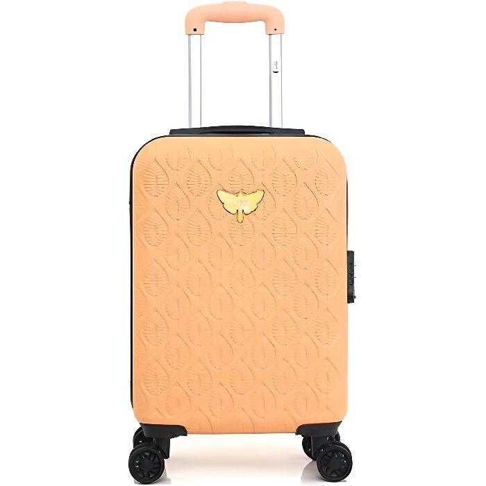 Valise cabine rigide Alicia 50 cm Abricot ABRICOT