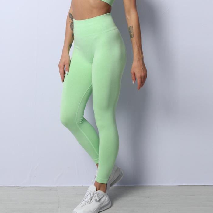 SURVETEMENT Femme - Pantalon de yoga absorbant l'humidité et à séchage rapide Pantalon de fitness sport - Vert CW™