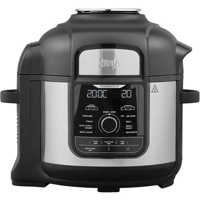 NINJA Foodi MAX [OP500EU] Autocuiseur 9-en-1, 7,5 L, 1 760 W, Noir - Vu à la TV