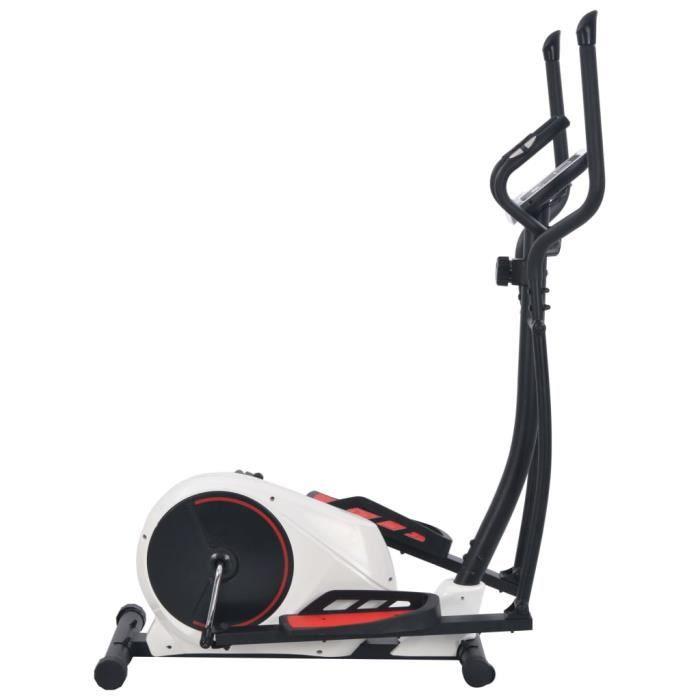 Vélo elliptique magnétique avec mesure du pouls