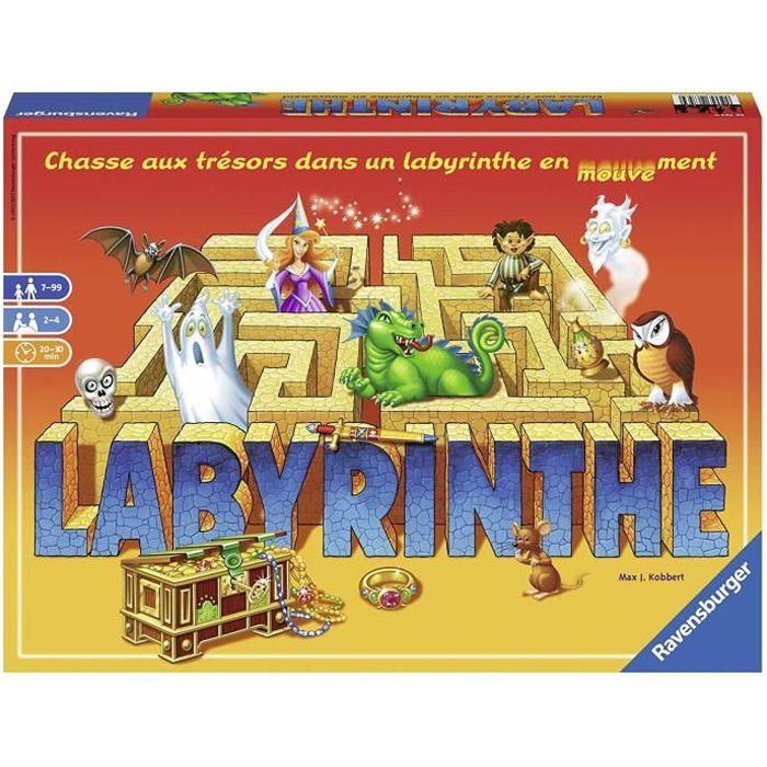 LABYRINTHE Jeu de société - 2 à 4 joueurs - 7 ans et +