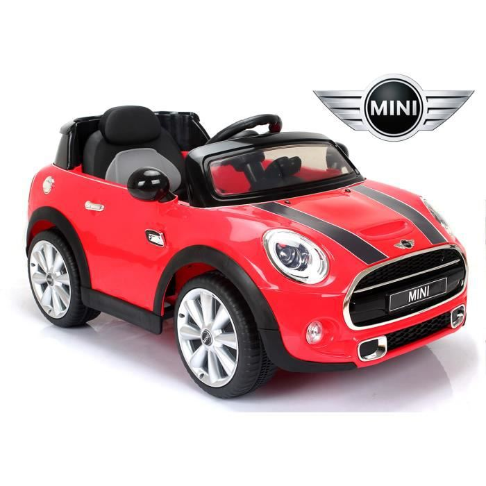 petite voiture lectrique 4x4 mini cooper s t l commande. Black Bedroom Furniture Sets. Home Design Ideas
