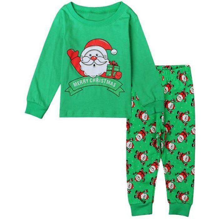 Pantalon Bébé Enfants Vêtement Pajamas Tenues Sets Manches Longues Chemise