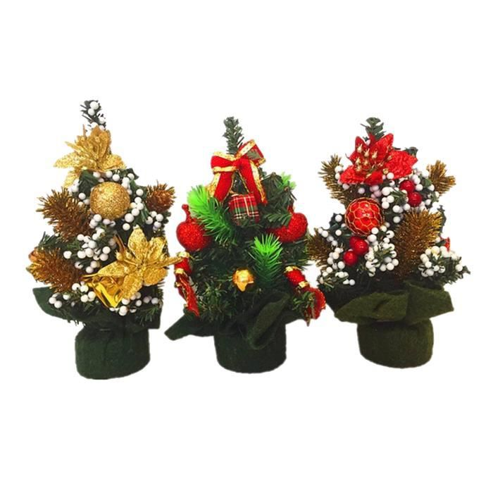 1 pc de 20cm mini sapin artificiel de noel decoration. Black Bedroom Furniture Sets. Home Design Ideas