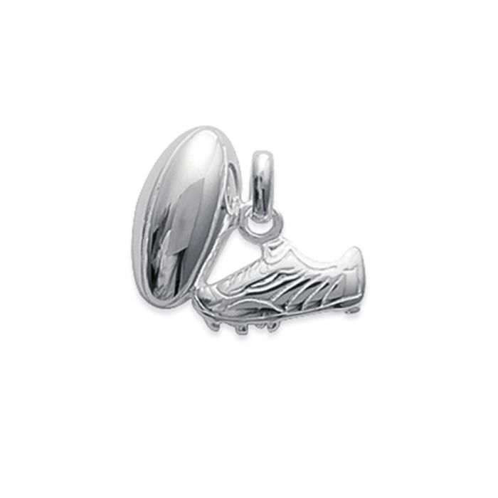 Pendentif chaussure de rugby