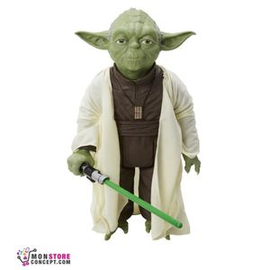 figurine yoda achat vente jeux et jouets pas chers. Black Bedroom Furniture Sets. Home Design Ideas