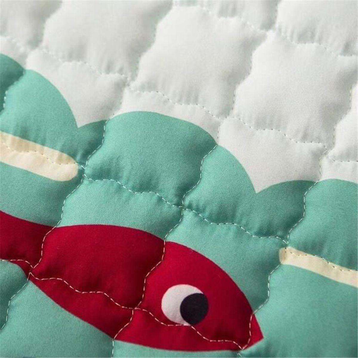 Tapis Chambre Bébé Mixte tapis de jeu bébé grand bébé des gamins rampant tapis rectangle jouer mats  animal modèle pour vivant chambre 195 x 145 cm crocodile