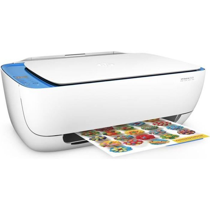 HP Deskjet 3639 Imprimante Multifonction All-in-One-Eligible Instant Ink 15  pages gratuites mois 7b045242feec