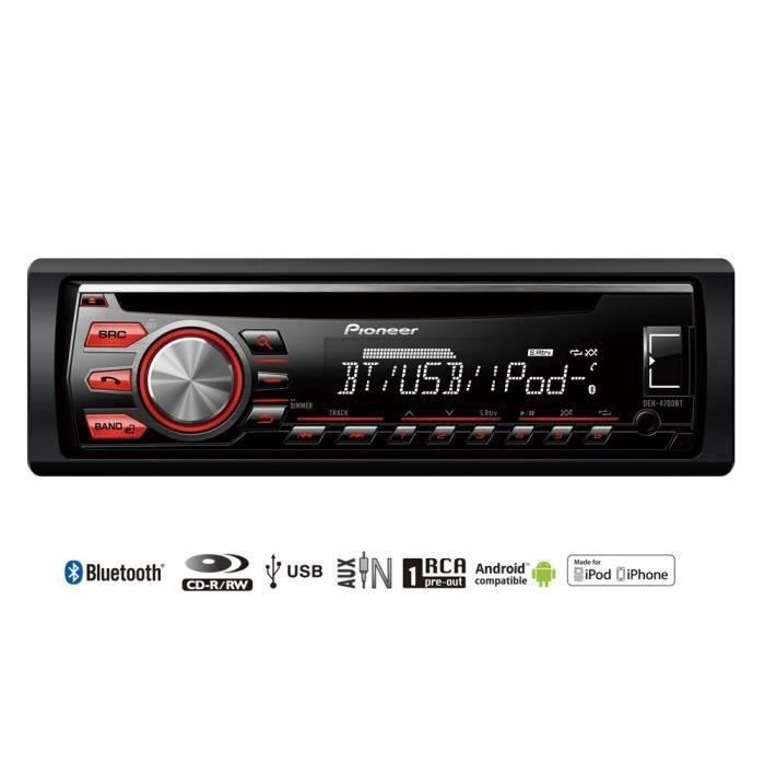pioneer deh 4700bt autoradio cd bluetooth usb 100 [ pioneer deh p4700mp wiring diagram ] garage door sensor deh p6700mp wiring diagram at creativeand.co
