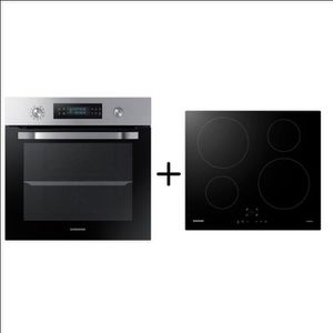 FOUR SAMSUNG NV64R3571BS Four TWIN CONVECTION™ - Pyroly