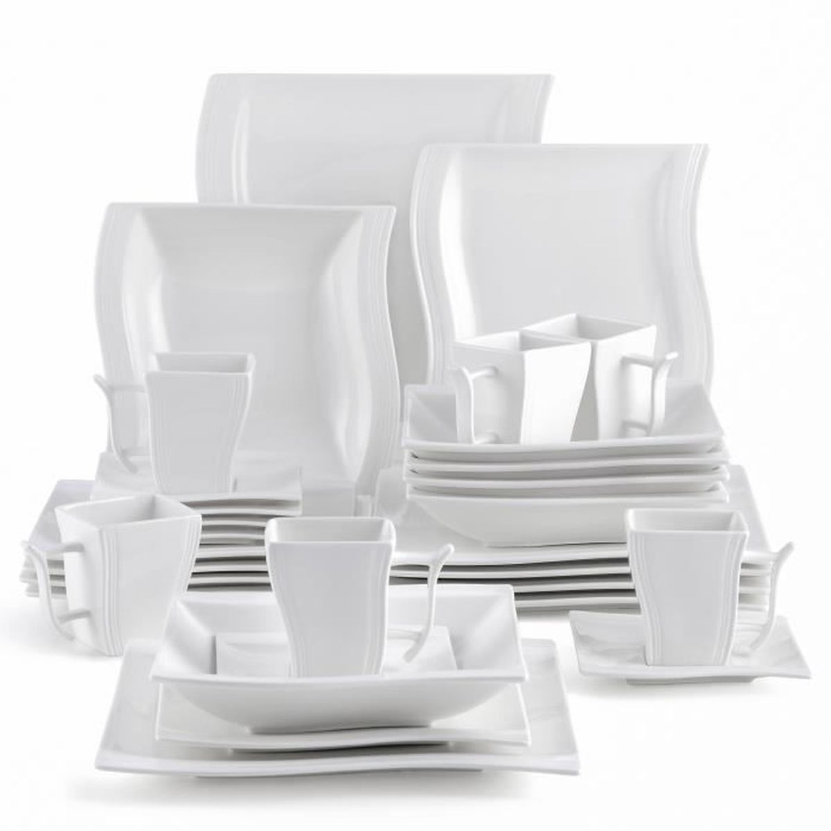 service de table assiettes achat vente service de. Black Bedroom Furniture Sets. Home Design Ideas