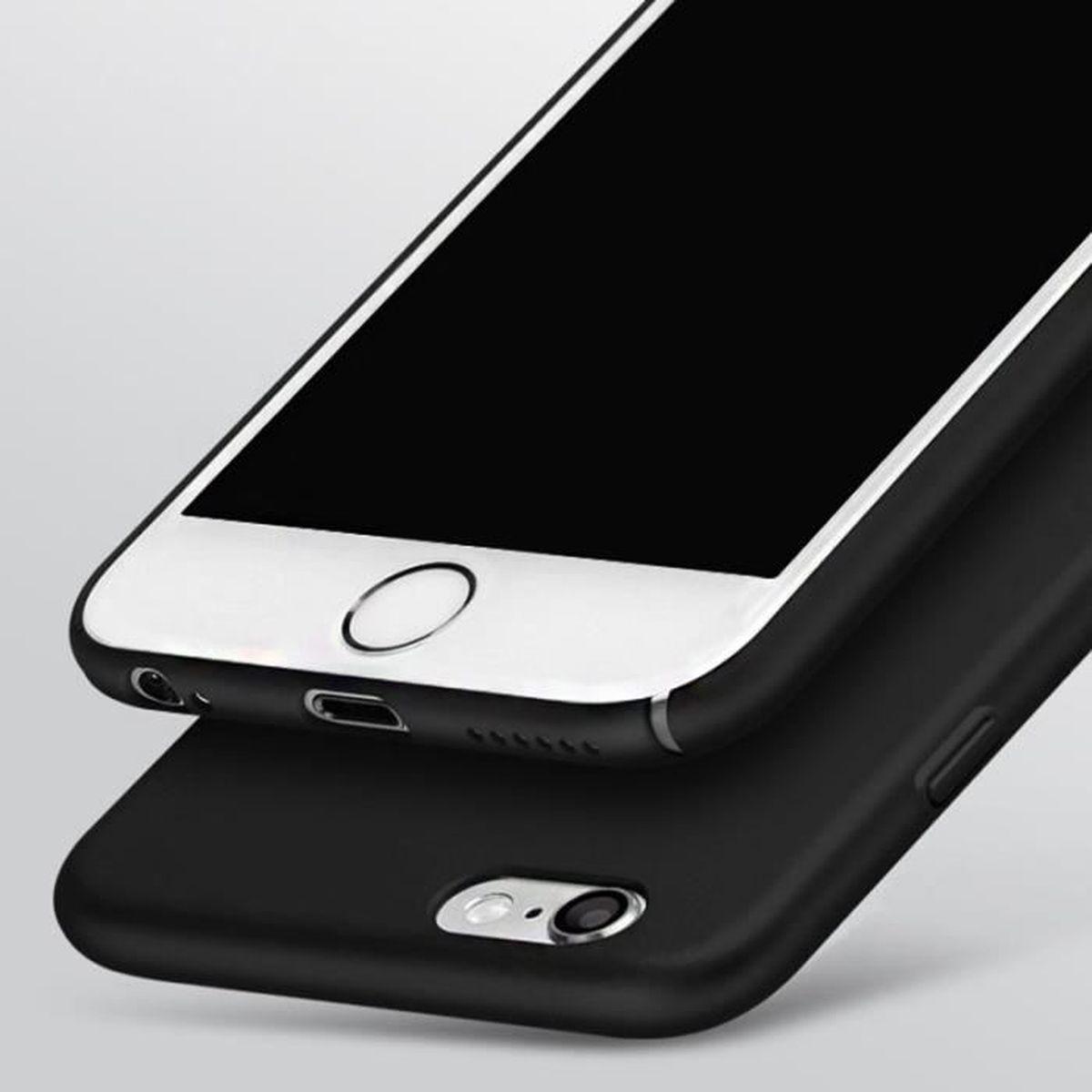 cabling r coque iphone 6 6s plus noir mat