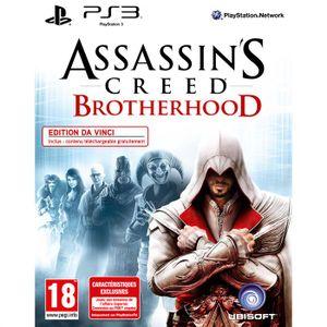 JEU PS3 ASSASSIN'S CREED BROTHERHOOD DA VINCI VERSION/ PS3