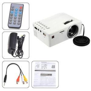 Vidéoprojecteur 1080 P HD LED Accueil MulitMedia Cinéma Cinéma USB