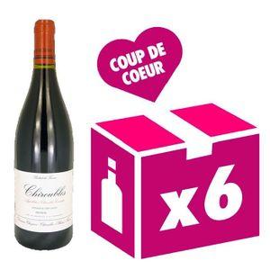VIN ROUGE Chiroubles Cuvée Traditionnelle vin rouge 6x75cl C